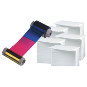 Printer Resupply Pack - MA250YMCKOK Ribbon & PVC Cards
