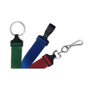 """Standard 5/8"""" Flat Ribbed Lanyards   Pack of 100"""