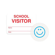Expiring School Visitor Badge - 1000