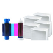 Printer Resupply Pack - MA300YMCKO Ribbon & PVC Cards