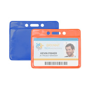 Colored Back Badge Holders   Pack of 100