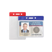 Colored Top Badge Holders   Pack of 100