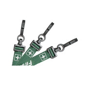 """EasyBadge Preprinted """"First Aid"""" Lanyards   Pack of 100"""