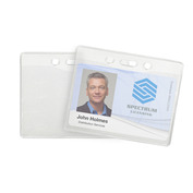 Extra-Large Textured Badge Holders   Pack of 100