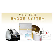 Visitor Badge System